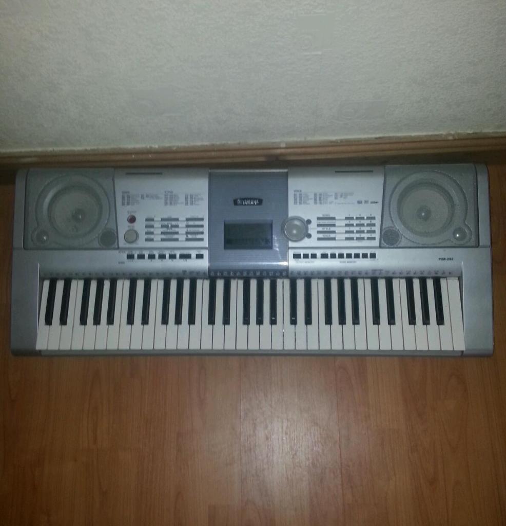 Yamaha psr 295 piano keyboard in salford manchester for Yamaha clp 295