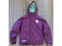 Nomis Puff The Magic Men's Down Ski/Snowboard Jacket Size Medium Purple