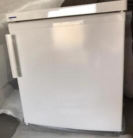 Small fridge with small freezer compartment
