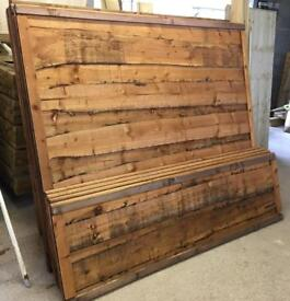 🌈 High Quality Heavy Duty Tanalised Brown Waneylap Wooden Garden Fence Panels
