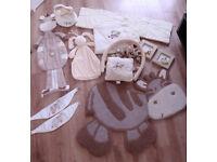 "Unisex nursery set ""Zeddy and Rhubarb"" from Mamas and Papas"