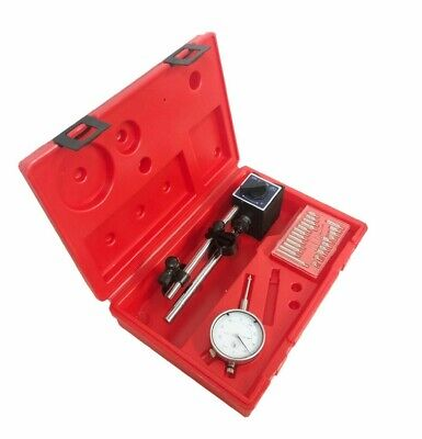 Dial Indicator With Magnetic Base with 22 Point Set 0-1
