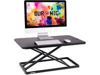 Duronic Adjustable Sit-Stand Standing Desk DM05D20