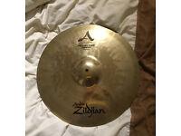 "Cymbal 18"" Projection Crash Avedis Zildjian. Good Condition."