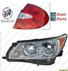 All Buick Head Lamp Tail Headlight Headlamp light Fog Mirror Phare Avant Arrière Anti brouillard Lumière Miroir