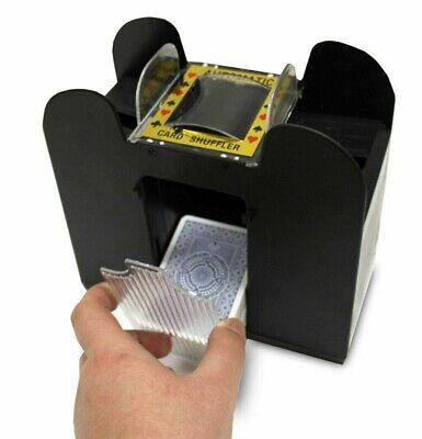 US Automatic 6 Deck Card Shuffler Playing For Casino Poker Cards Shuffle Machine