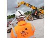CPCS Telehandler drivers wanted–London VGC Group