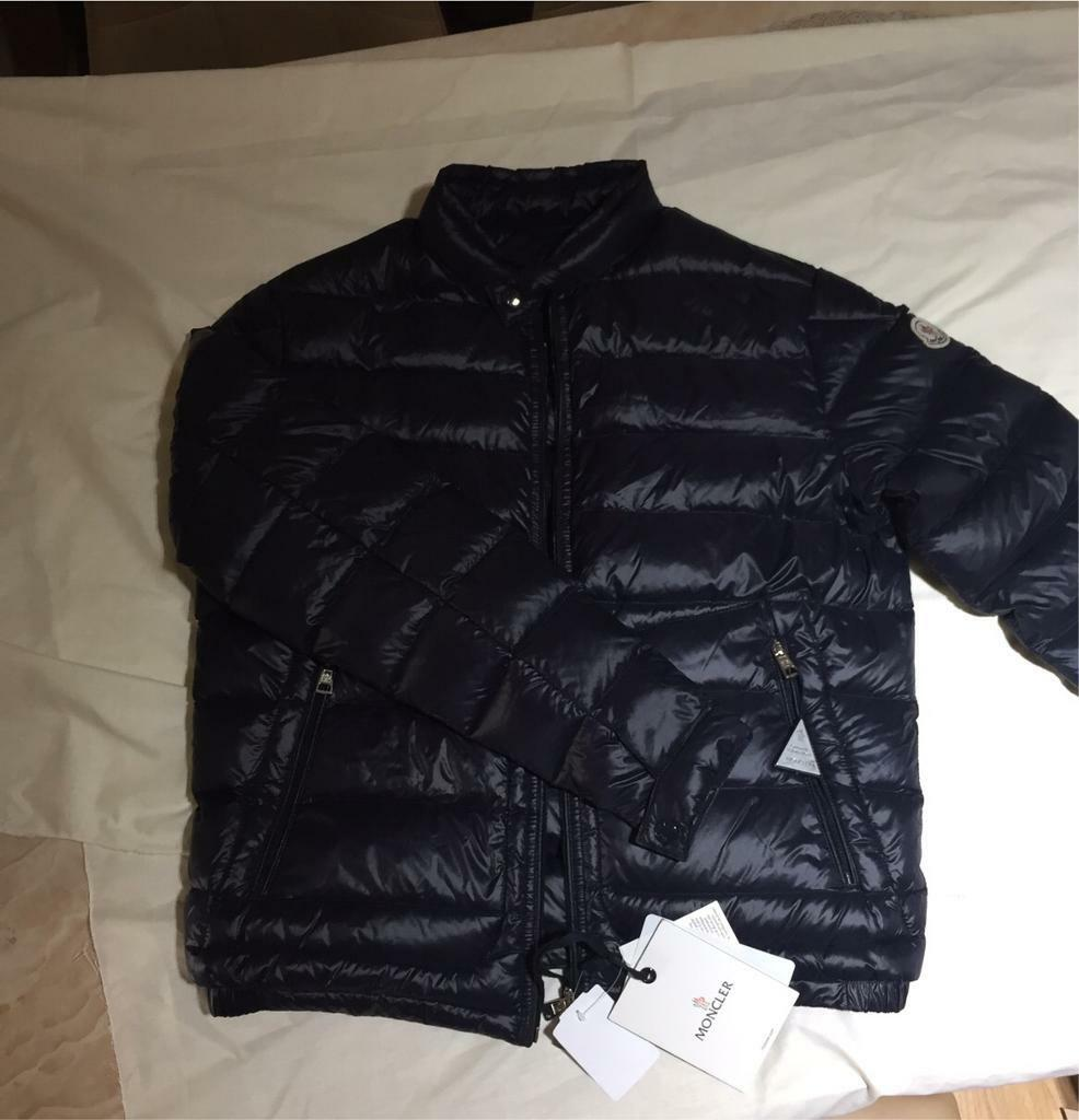 moncler navy blue jacket