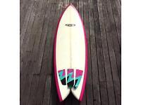 6'4 Fish Surfboard