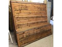 pressure treated brown wayneylap wooden garden fence panels