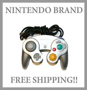 ORIGINAL-Silver-Nintendo-Gamecube-Controller-GENUINE-OFFICIAL-Nintendo-Brand
