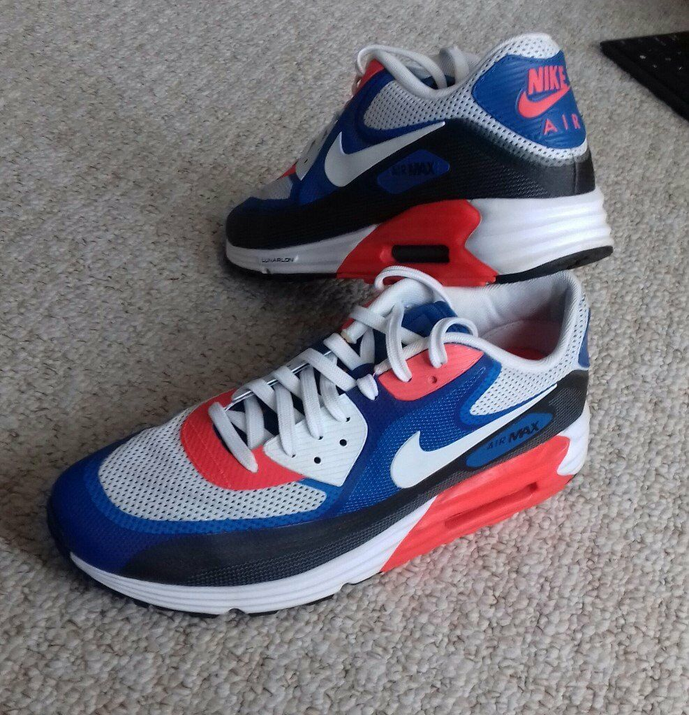 Men's Nike Air Max 90 Lunarlon Size UK 9 i Larkhall, South LanarkshireGumtree i Larkhall, South Lanarkshire Gumtree