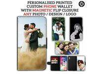 Personalised Leather Phone Cases Any Models Any Images
