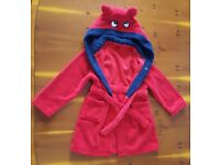 Boys dressing gown size 4-5
