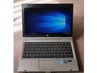 HP 2560p laptop. Core i7. 4gb ram. 120gb ssd