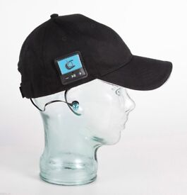 Bluetooth Baseball Cap Hat by Bluefingers Hands Free Music & Calls