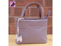 RADLEY - Mini Lavender Leather 'Incognito' Grab Bag *Excellent Condition*