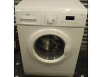 LOGIK L612WM16 Washing Machine White Like New Collection Faversham ME13