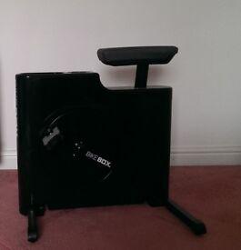 Black Exercise Bike Box