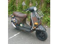 Vespa / Piaggio ET2 50cc 4 Stroke - Rat Look