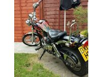 AJS REGAL RAPTOR 50cc Bike