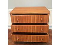 MID-CENTURY RETRO VINTAGE MORRIS OF GLASGOW CHEST OF DRAWERS