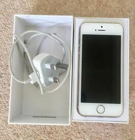 iPhone 5S 16GB White/Gold for sale - UNLOCKED!!