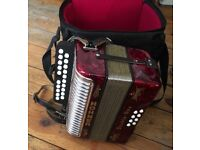 Honner accordion for sale, as new