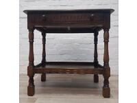 Priory Corner Hall Table (DELIVERY AVAILABLE FOR THIS ITEM OF FURNITURE)