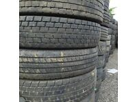 Truck tyres for export 275/70 R22.5 - second hand tyres
