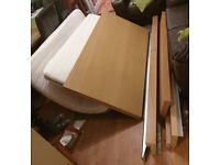 Ikea Malm Double Bed with Sultran Mattress