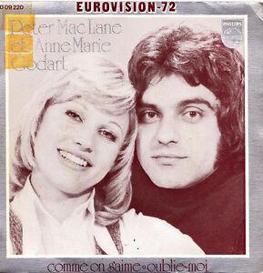 ... PETER-MACLANE-ET-ANNE-<b>MARIE-GODART</b>-EUROVISION-72- - $_35