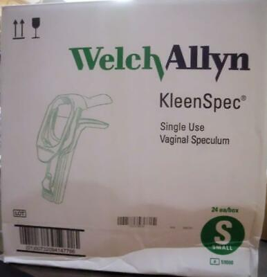 Welch Allyn 59000 Kleenspec Vaginal Speculum Nonsterile Surgical Small Box24