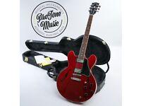 2007 USA Gibson ES-335 Custom Cherry Red Figured Top & Original Gibson Case