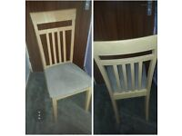 6 CHAIRS. EXCELLENT CONDITION