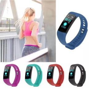 New: Y5 Smart Bracelet Fitness Tracker with Heart Rate, Blood Pressure, and O2 detection