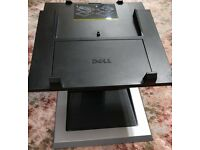 Genuine Dell PW380 E-Port Replicator Docking Station PR03X +(Power Supply) + Dell EView Laptop Stand