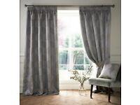 Ashley Wilde Ashwell Pencil Pleat Room Darkening Curtains-Bronze-66x54-New & Sealed