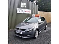 NEW MODEL VOLKSWAGEN POLO 1.6 TDI SEL, HEATED SEATS, FULL SERVICE HISTORY, TWO OWNERS, 12 MONTHS MOT
