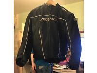 ixon motorbike jacket and trousers
