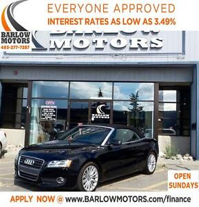 2010 Audi A5 2.0T *EVERYONE APPROVED* APPLY NOW DRIVE NOW.