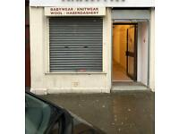 Shop to let - Greenock town centre - partnership available