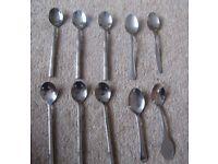 10 x Mixed Tea Spoons