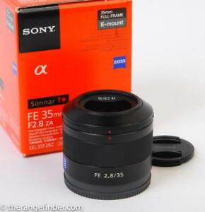 Sony FE 35mm f2.8 Zeiss Sonnar Lens