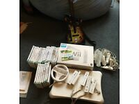 Wii Console, accessories and a games bundle