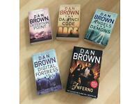 Dan Brown Book Bundle x 5