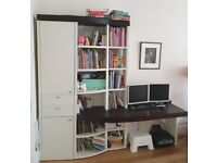 3 pieces of hulsta office and storage