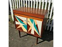 1930's Upcycled Cocktail Cabinet