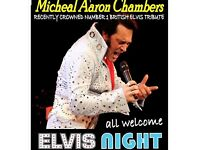 Award Winning Elvis Tribute Artist - Michael Aaron Chambers