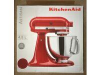 KitchenAid Artisan Mixer 4.8L Red